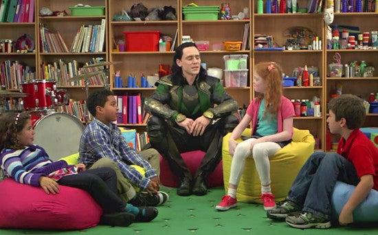 Loki -- Screengrab from exclusive EW.com clip.