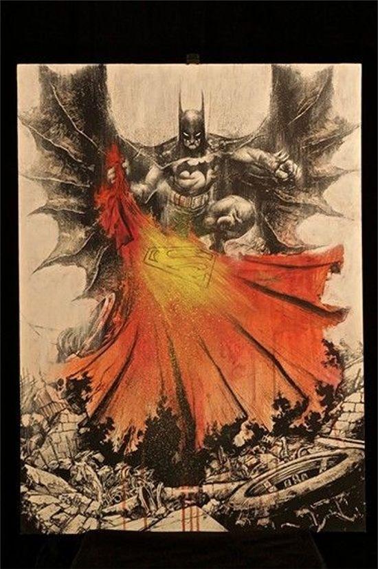 Batman Vs. Superman Concept Art