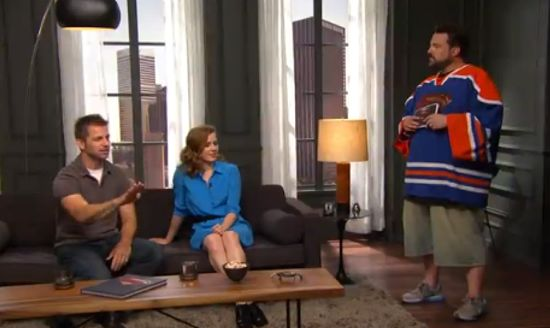 Batman Vs. Superman Zack Snyder & Kevin Smith
