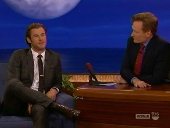 Chris Hemsworth & Conan O'Brien
