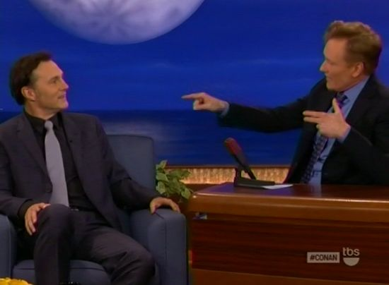 David Morrissey & Conan O' Brien