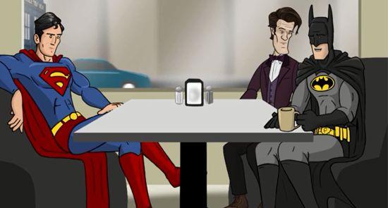 Doctor Who Batman Man of Steel