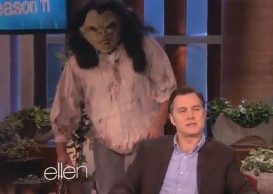 Ellen scares The Governor