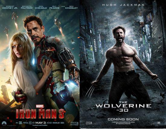Iron Man 3 & The Wolverine