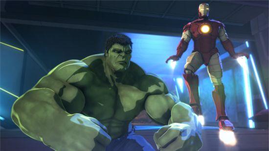 Iron Man & Hulk Heroes United