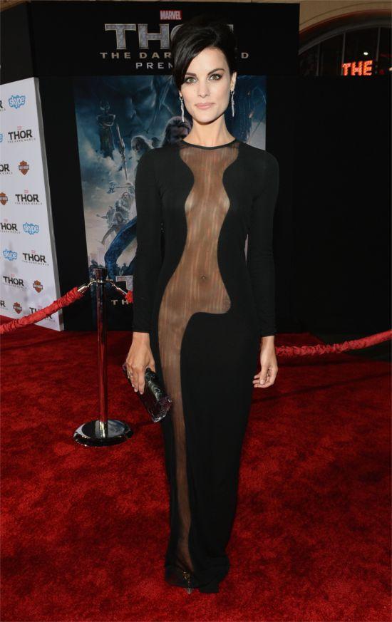Jaimie Alexander's Dress