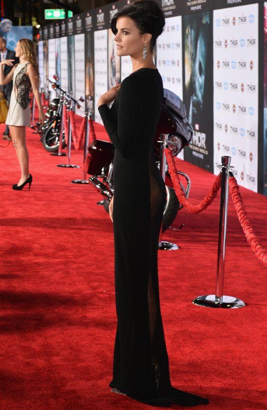 Jaimie Alexander's Thor The Dark World Dress