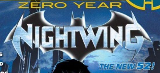 Nightwing Comics Logo
