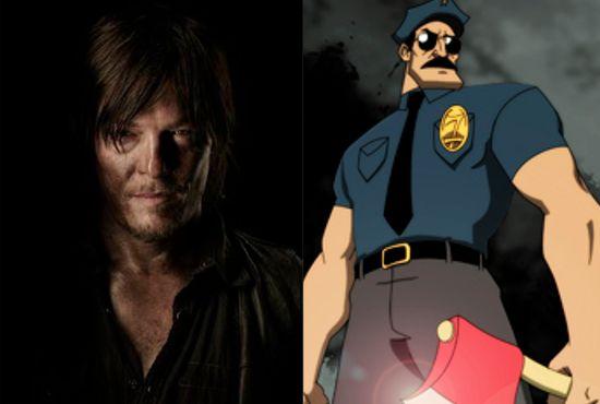 Norman Reedus Axe Cop