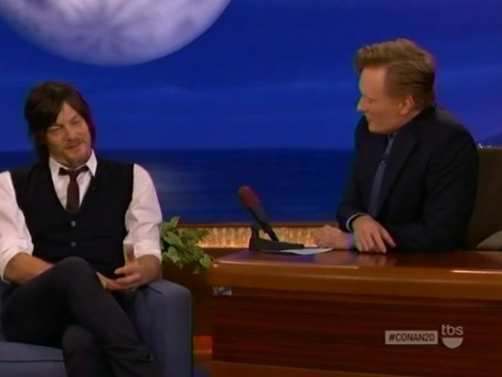 Norman Reedus & Conan O'Brien