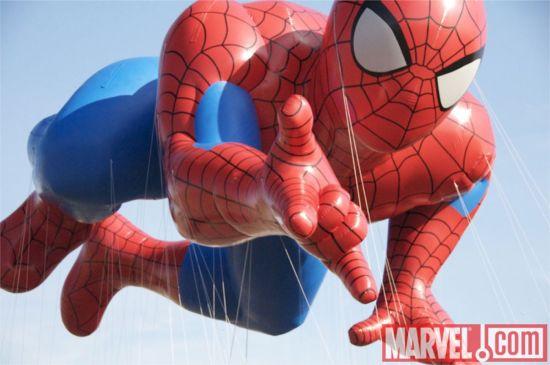 Spider-Man Balloon Macy's Thanksgiving Day Parade