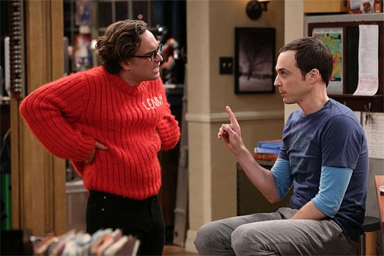 The Big Bang Theory The Itchy Brain Simulation