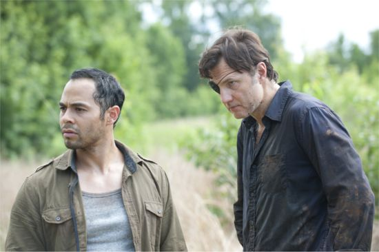 The Walking Dead Dead Weight  The Governor & Martinez