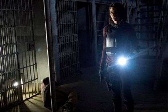 The Walking Dead Internment Maggie