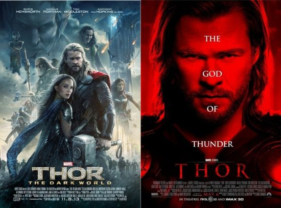 Thor The Dark World beats Thor