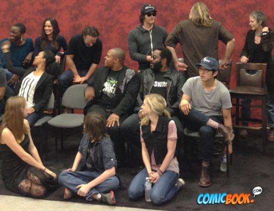 Walking Dead cast