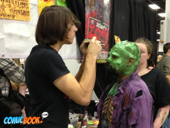 Walker Stalker Con zombie makeup