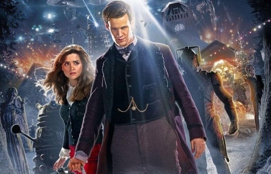 Doctor Who Christmas Specials.Doctor Who Christmas Special The Time Of The Doctor Trailer