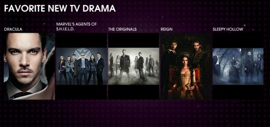 Agents of SHIELD People's Choice Awards