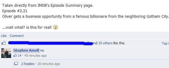 Amell Facebook No
