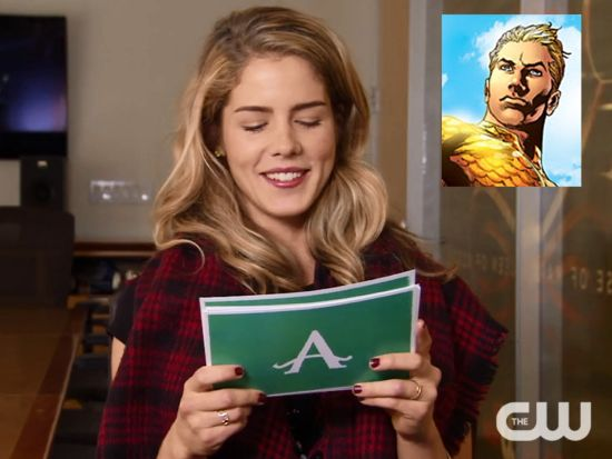 Arrow Felicity Aquaman