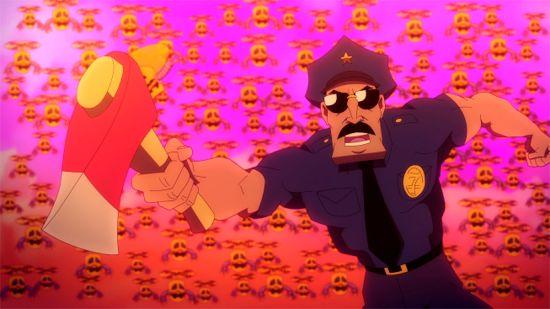 Axe Cop Taxi Cop