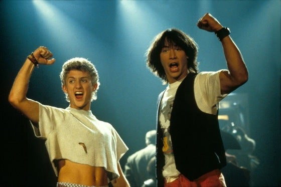 Bill And Ted 3 To Reportedly Be Set In The UK