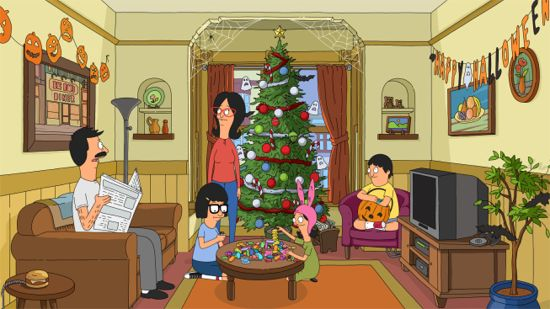 Bob's Burgers Christmas in the Car