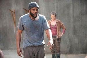 Carol & Tyreese Walking Dead