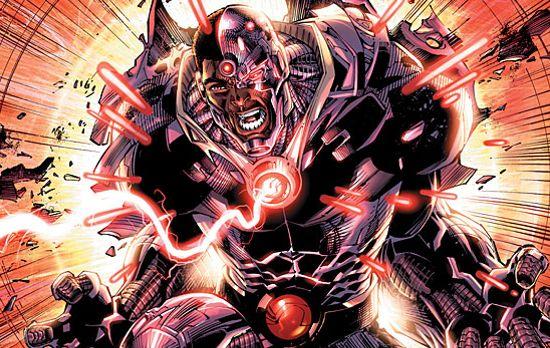 Cyborg Batman Vs. Superman