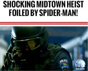 Daily Bugle Shocking Heist