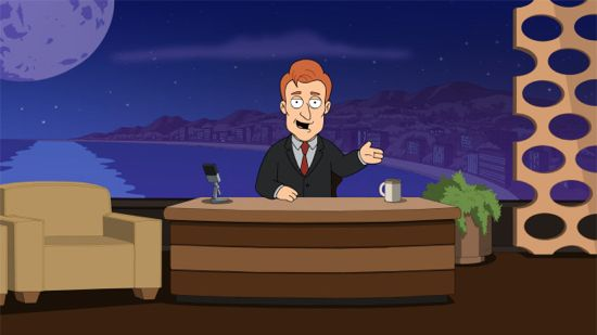 Family Guy Conan O'Brien