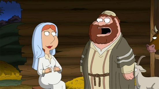 Family Guy Jesus, Mary, & Joseph