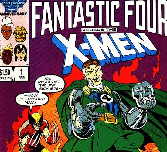Fantastic Four vs. the X-Men Movie