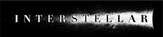 Interstellar Movie Logo