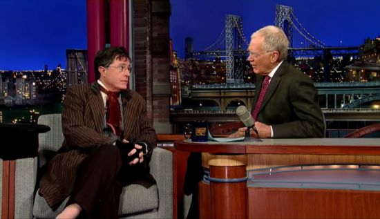 Stephen Colbert The Hobbit Cameo