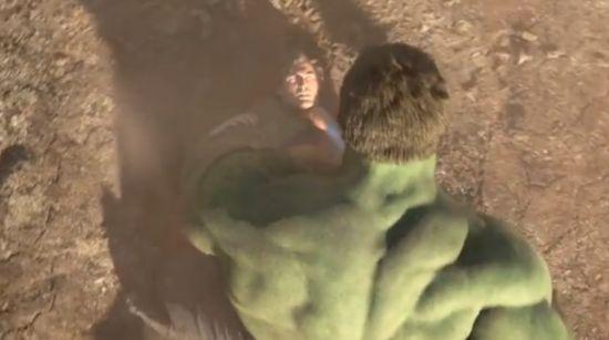 Superman Vs. the Hulk