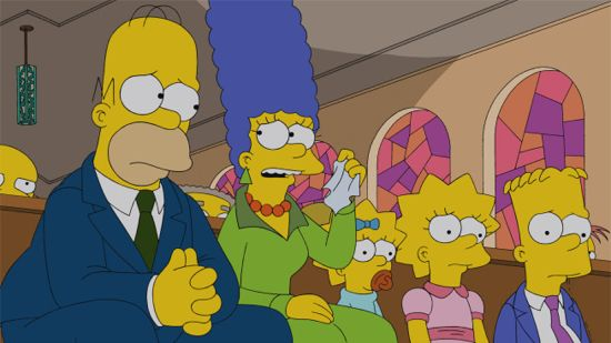 The Simpsons Four Regrettings and a Funeral
