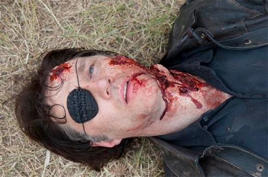 The Walking Dead The Governor Head Wound