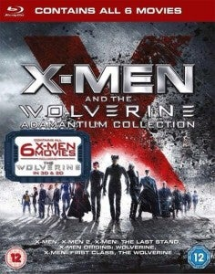 X-Men & The Wolverine Box Set