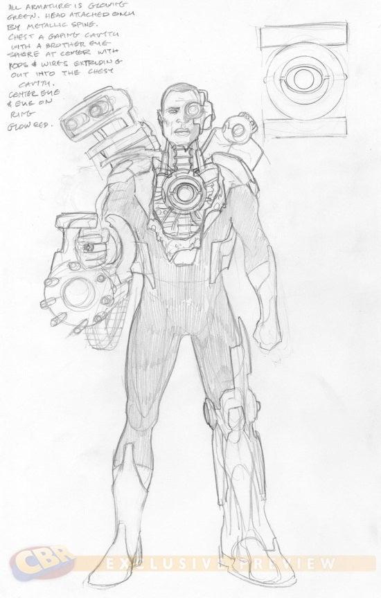 Cyborg John Stewart