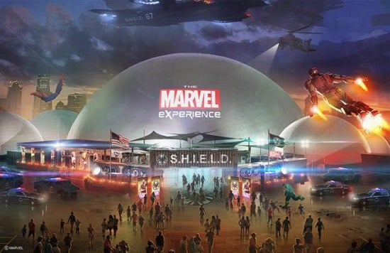 The Marvel Experience.