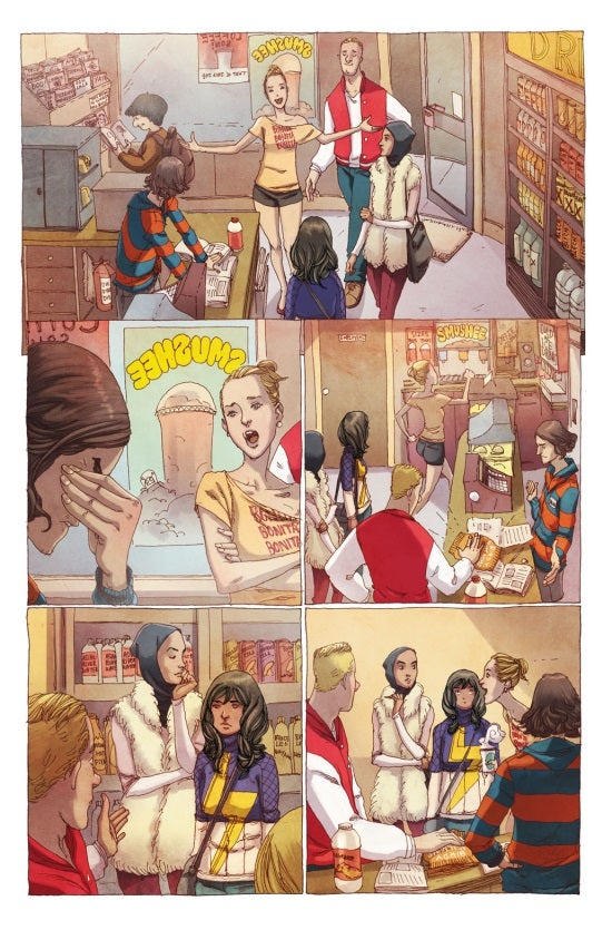 Ms. Marvel #1 Preview Page 2