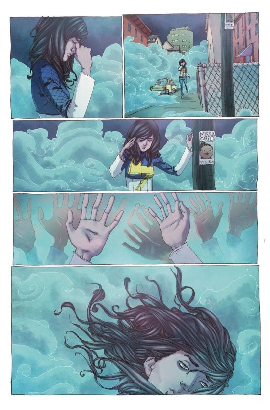 Mrs. Marvel #1 Preview Page 3