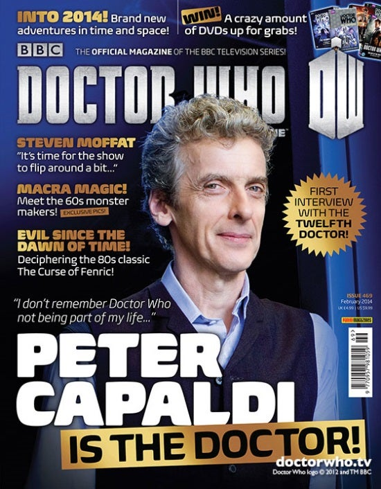 Peter Capaldi Cover Doctor Who Magazine