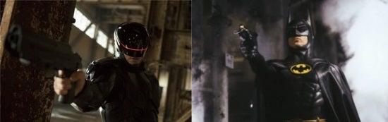 Robocop and Batman Suits