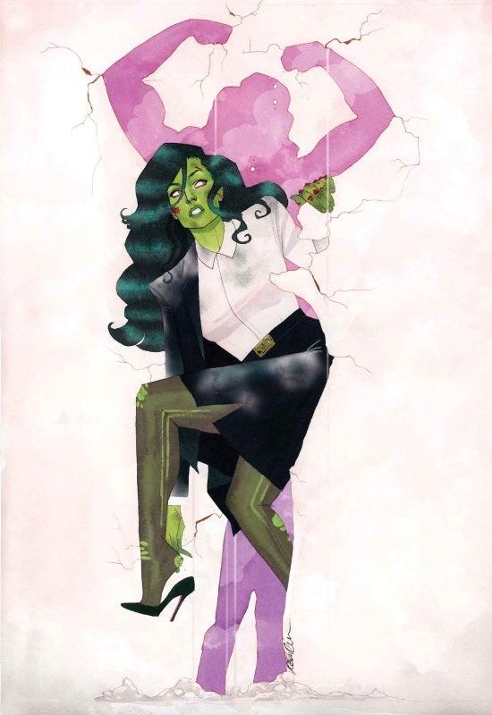 She-Hulk #1 Cover