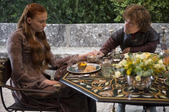 Sophie-Turner-as-Sansa-Stark-Peter-Dinklage-as-Tyrion-Lannister_photo-Macall-B (1)