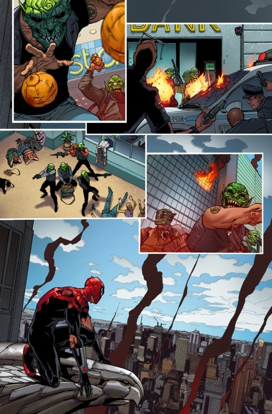 Superior Spider-Man 27.NOW Preview Page 1