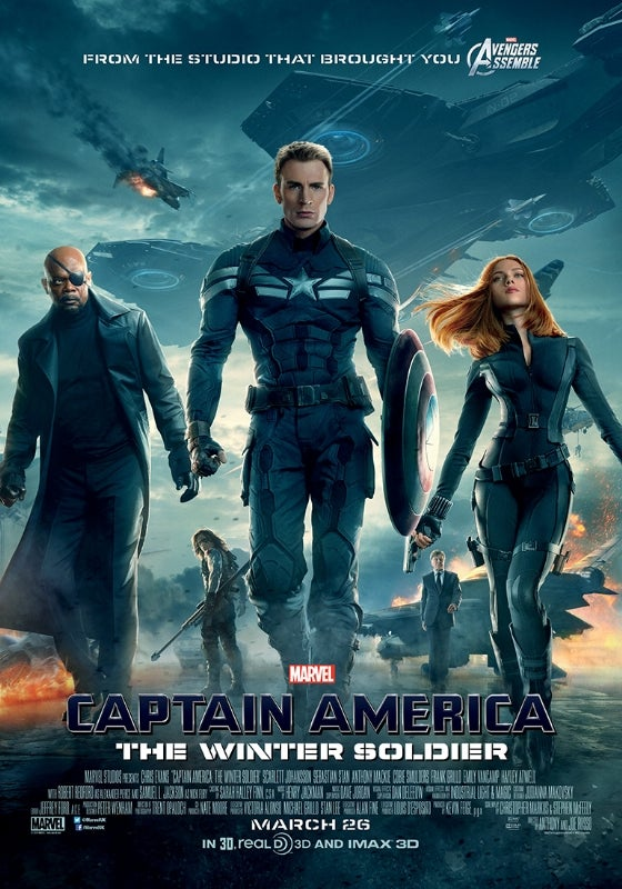 More Captain America: the Winter Soldier Posters, Without Masks ...